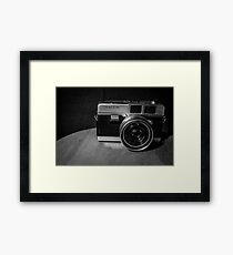 Vintage Film Framed Print