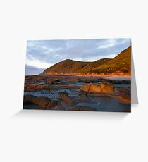 Lorne Rock Sculptures Greeting Card