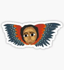 Ethiopian Angel I Sticker