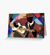 Memphis Blues Greeting Card