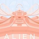 Alien (1979) Movie Poster by Peter Cassidy