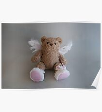 Angel Teddy Bear Poster