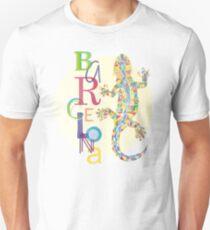 Fashion Barcelona City Lizard T-Shirt