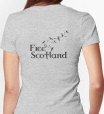 Free Scotland Dandelion Seed T-Shirt T-Shirt