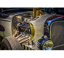 Ratrod Vintage Power Photographic Print