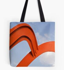 Red structure Tote Bag