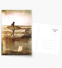 Vintage Surfer Postcards