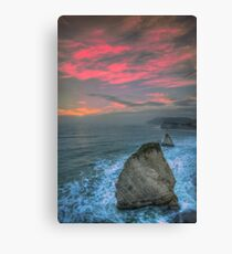 Freshwater Bay Sea Stacks Canvas Print