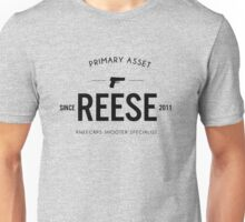 Person of Interest - Reese - Black Unisex T-Shirt