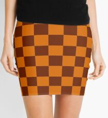Green Hill Zone Pattern Mini Skirt