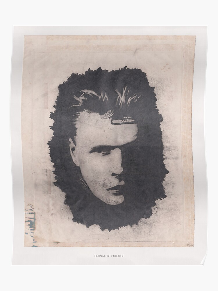 Larry Mullen, Jr  (c  1989) | Poster
