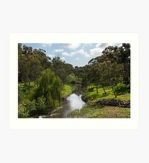 Adelaide's River Torrens Art Print