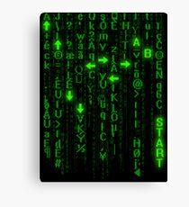 Konami Matrix Canvas Print