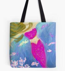 Mermaid Seeks the Surface Tote Bag