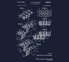 Lego Patent - Dark Background by garci66