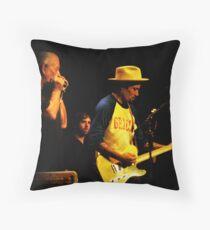 Ben Harper & Charlie Musselwhite Throw Pillow
