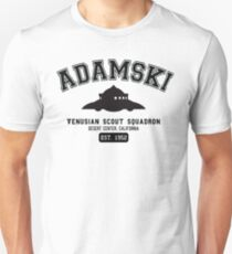 Adamski Scout Craft UFO Graphic T-Shirt