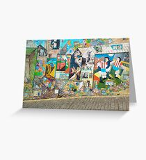 Street Graffiti Greeting Card