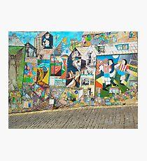 Street Graffiti Photographic Print