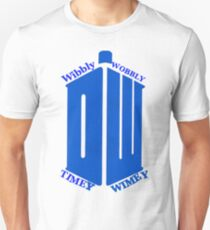 Dr who wibbly wobbly timely wimley  Unisex T-Shirt
