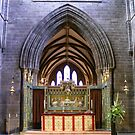 Altar  in Chester Cathedral, by AnnDixon
