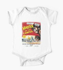 monsters on campus! Kids Clothes