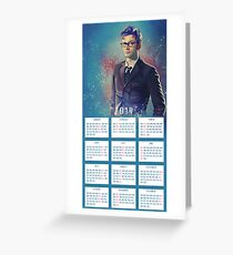 One Year With The DOCTOR! Greeting Card