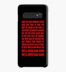 You'll Never Walk Alone - RED Hülle & Klebefolie für Samsung Galaxy