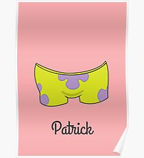 Patrick Star Poster