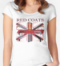 Join the Red Coats!!!! Women's Fitted Scoop T-Shirt