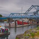 Blue Bridge by Carrie Cole