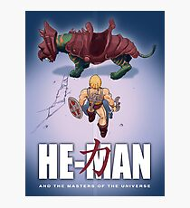 He-Man and the Masters of the Universe : Akira Photographic Print