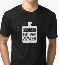 Presse Ne Pas Avaler - Thom Yorke Tri-blend T-Shirt