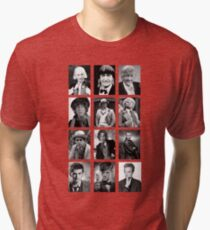 Doctor Who? Tri-blend T-Shirt