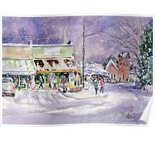 A Snowy Bell Buckle Tennessee Poster