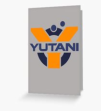 Yutani Corporation (pre Weyland takeover) Greeting Card