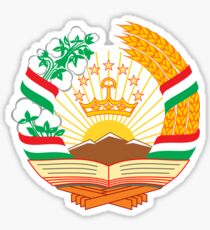Emblem of Tajikistan  Sticker