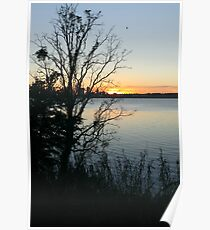 St. Johns River Sunset Poster