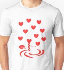 Hearts Entangled Unisex T-Shirt