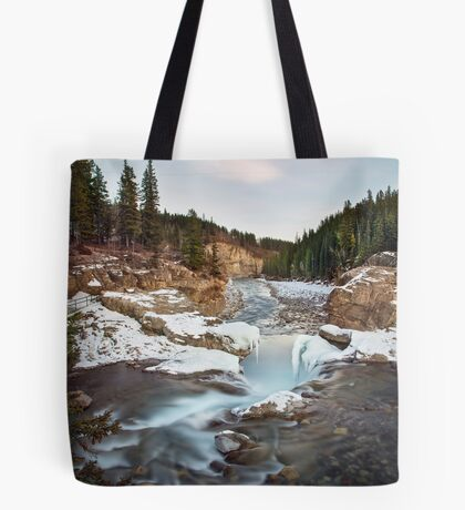 In The Frosty Forests Tote Bag