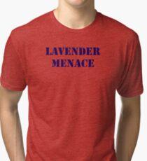 Lavender Menace Tri-blend T-Shirt