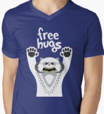 Camiseta para hombre de cuello en v Monster Hugs