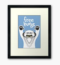 Monster Hugs Framed Print
