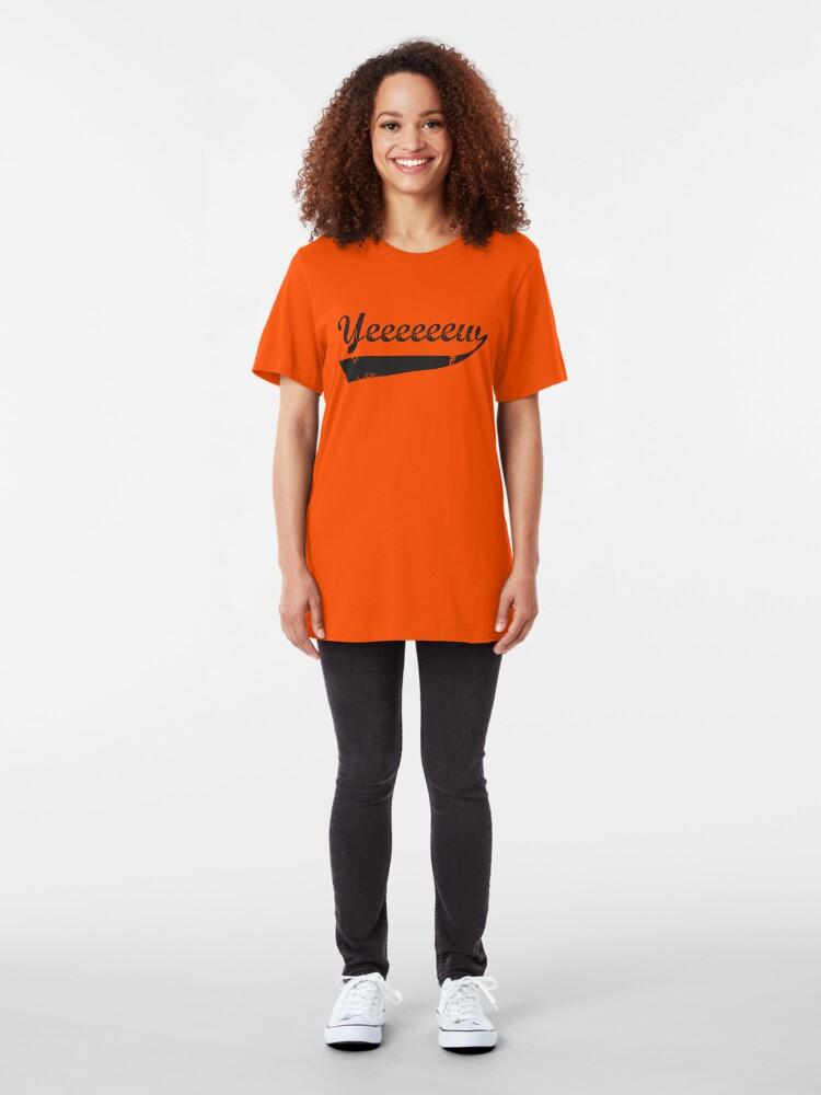 Alternate view of Yeeeeeeew Slim Fit T-Shirt