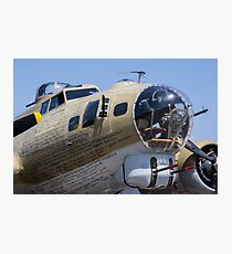 Bomber at show Photographic Print
