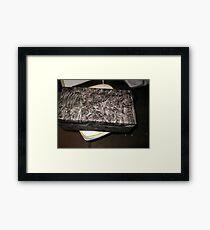 Dah Dah Gift Wrap Framed Print