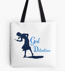 Girl Detective (dark on light) Tote Bag