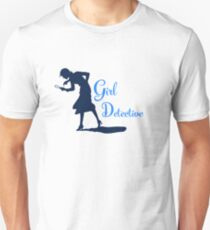 Girl Detective (dark on light) Unisex T-Shirt