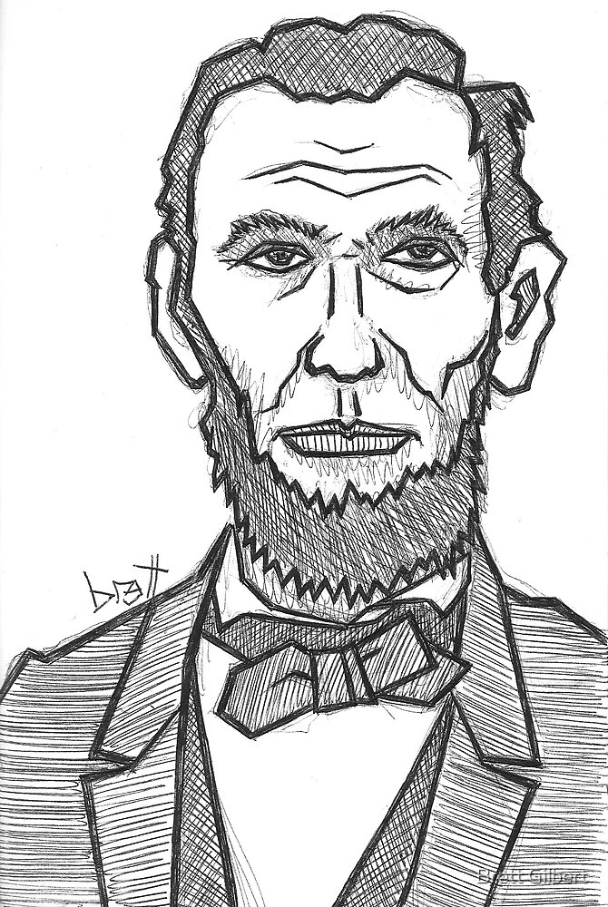 Abe Lincoln by Brett Gilbert