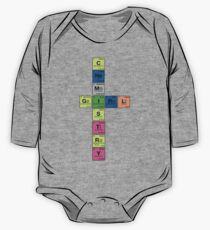 CHEMISTRY GIRL - Periodic Elements Scramble!  One Piece - Long Sleeve